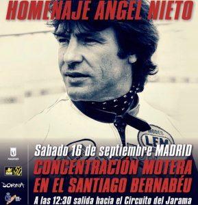 homenaje Ángel Nieto
